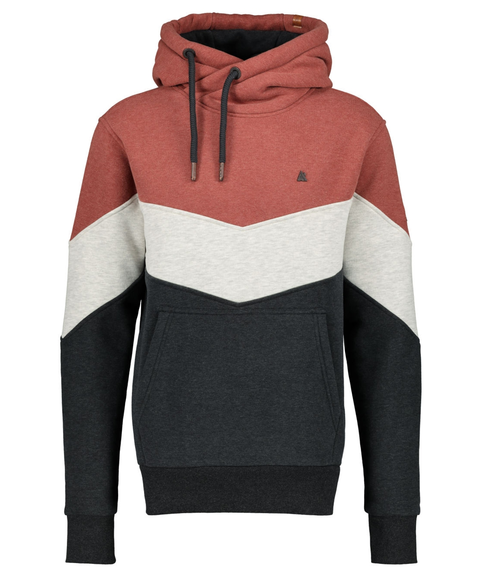 Alife and Kickin Hoody Jasper - chestnut