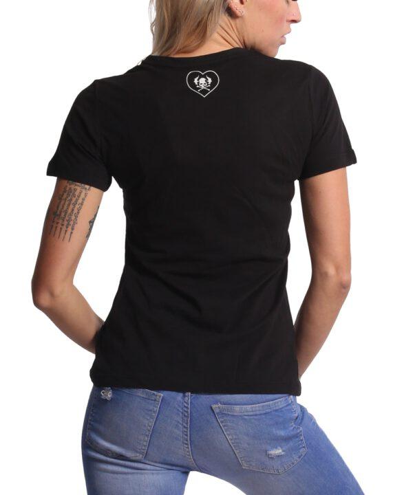 Yakuza Bubble Skull V-Neck T-Shirt GSB-17134 schwarz