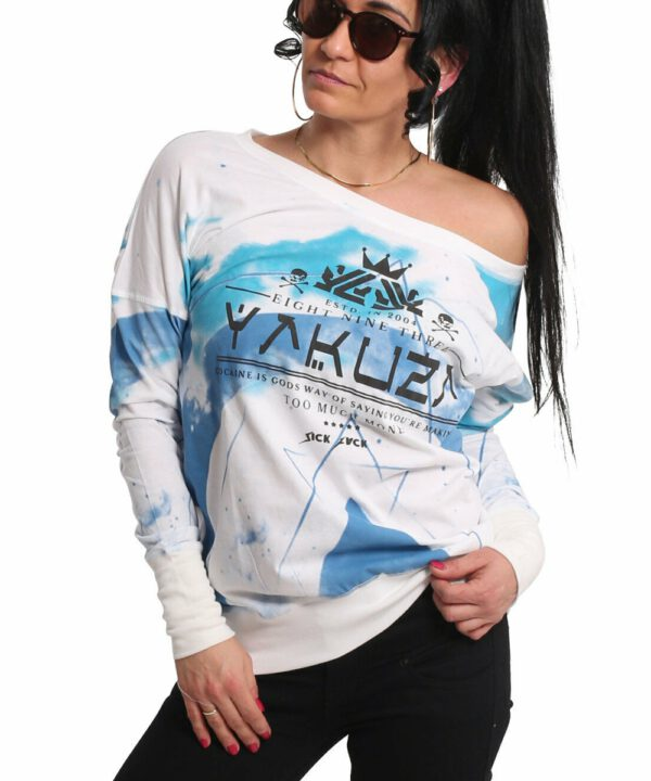Yakuza GLSB-17148 Spacy Longsleeve weiß