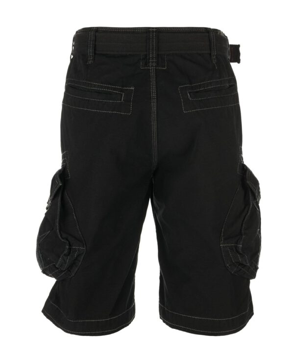 Jet Lag Cargo Shorts Take off 3 black