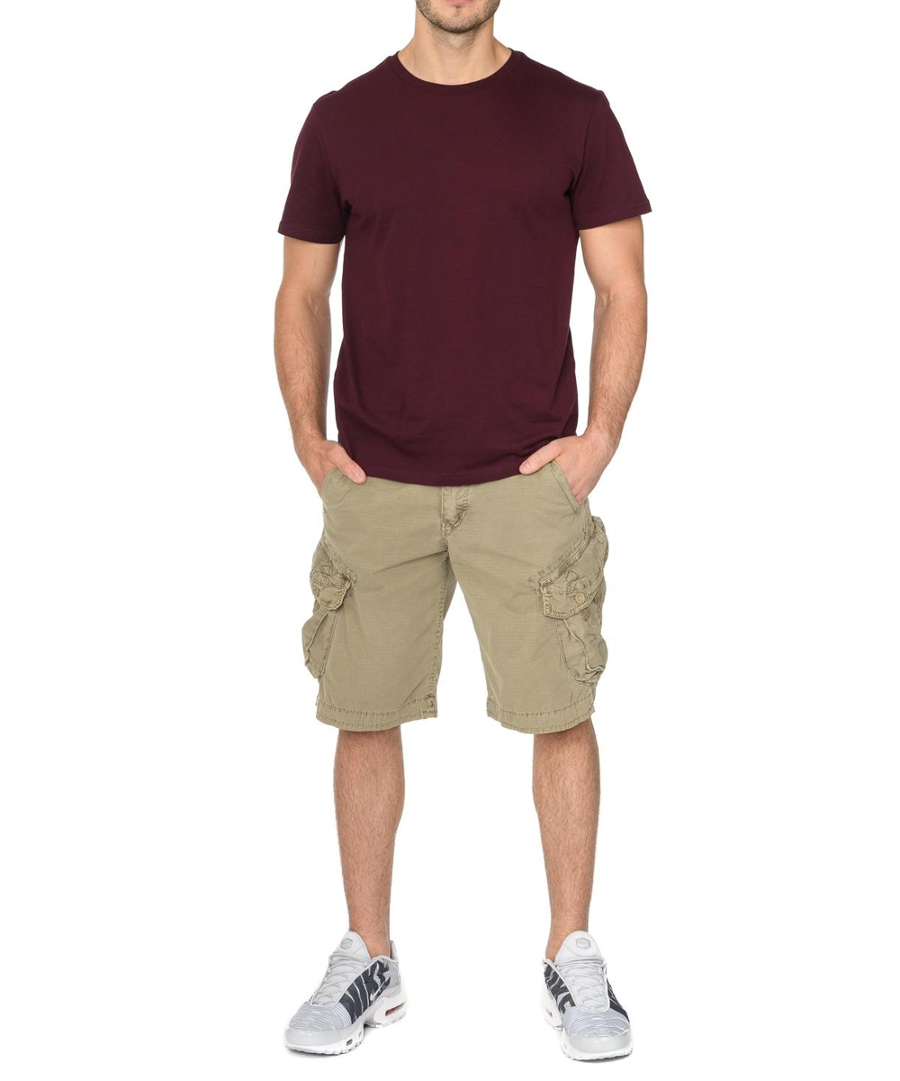 Jet Lag Cargo Shorts Take off 3 cement