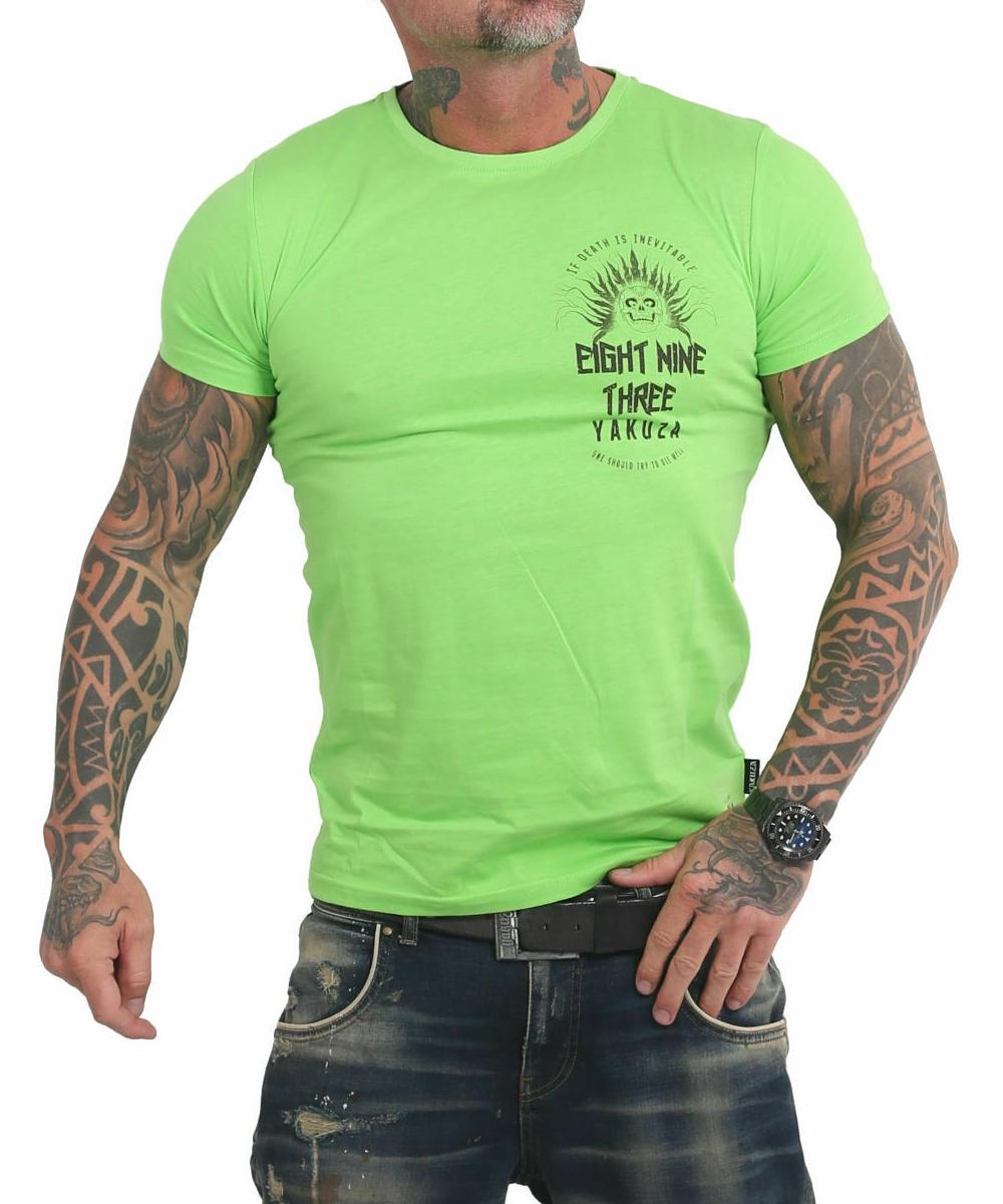 Yakuza Inevitable T-Shirt TSB-17028 jasmin green