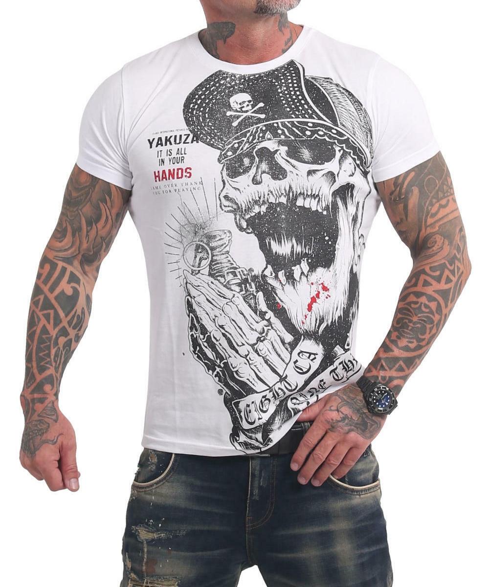 Yakuza Carnal T-Shirt TSB-17036 weiß