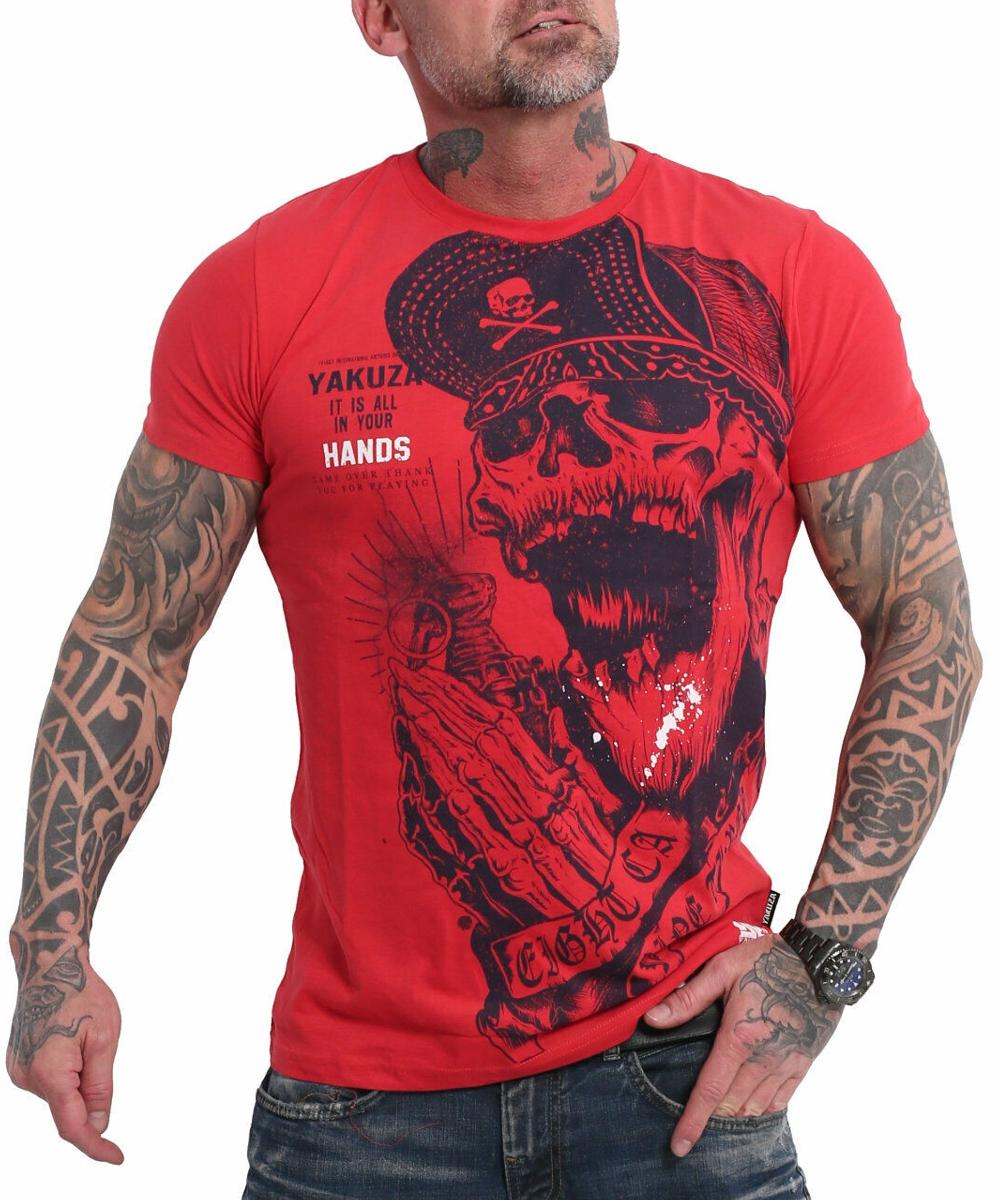 Yakuza Carnal T-Shirt TSB-17036 rot