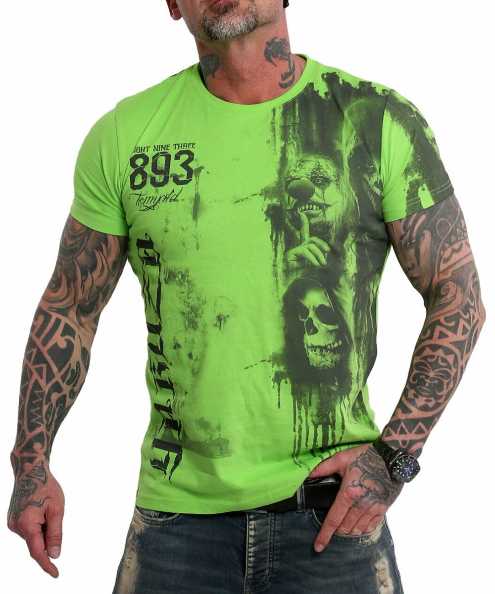 Yakuza Waiting Death T-Shirt TSB-10020 jasmine green