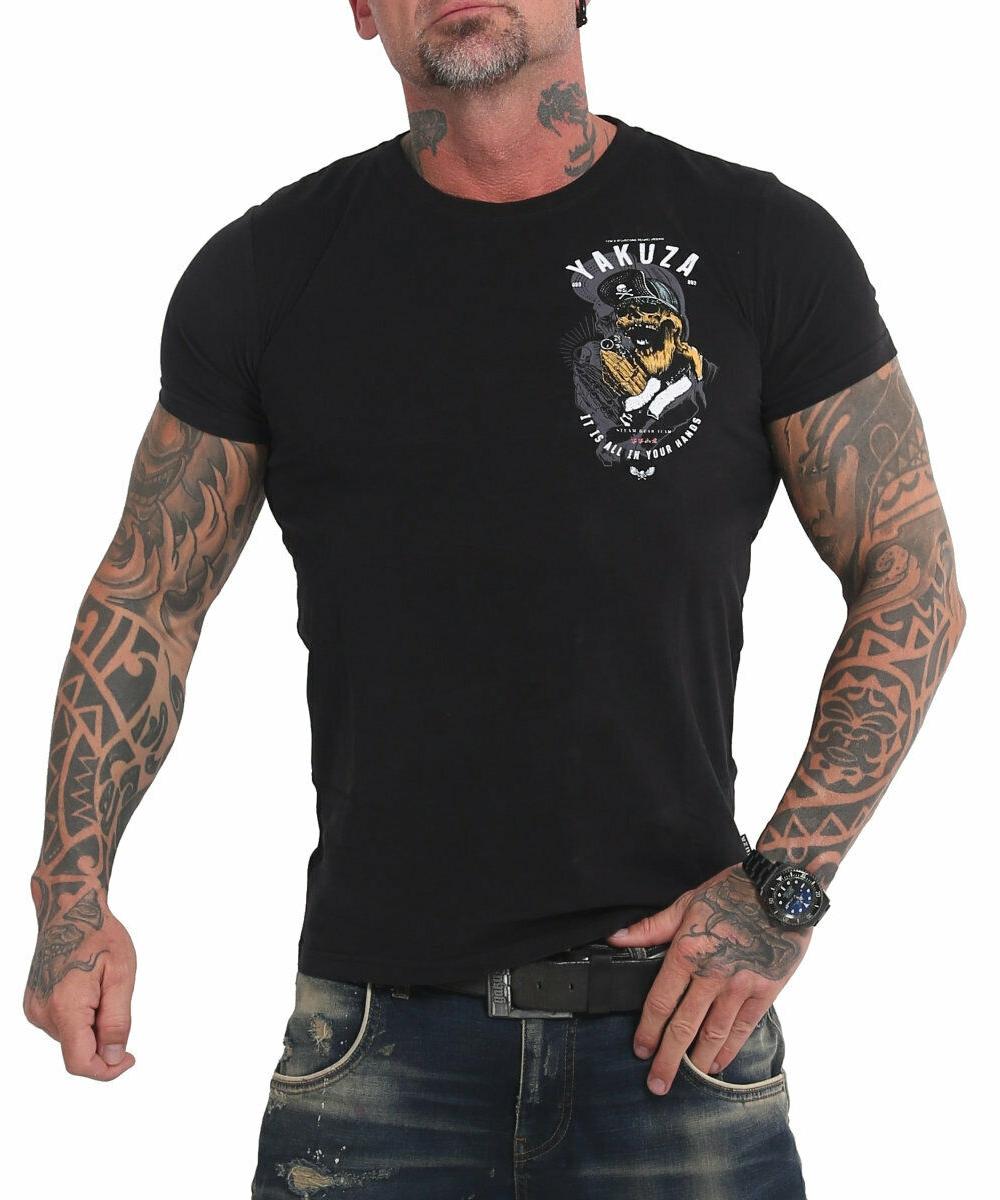 Yakuza Wey T-Shirt TSB-17035 schwarz