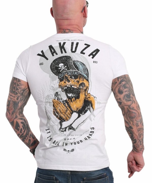 Yakuza Wey T-Shirt TSB-17035 weiß