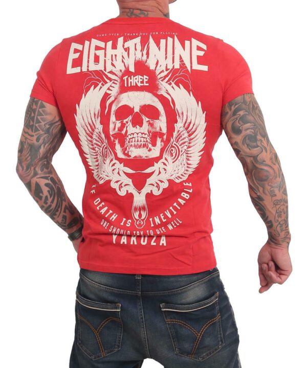 Yakuza Inevitable T-Shirt TSB-17028 rot