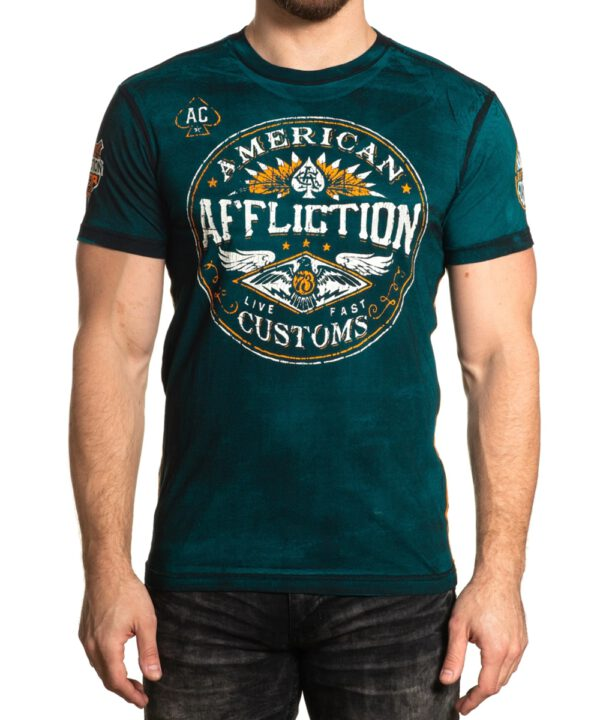 Affliction AC Oil Shop T-Shirt A-23101
