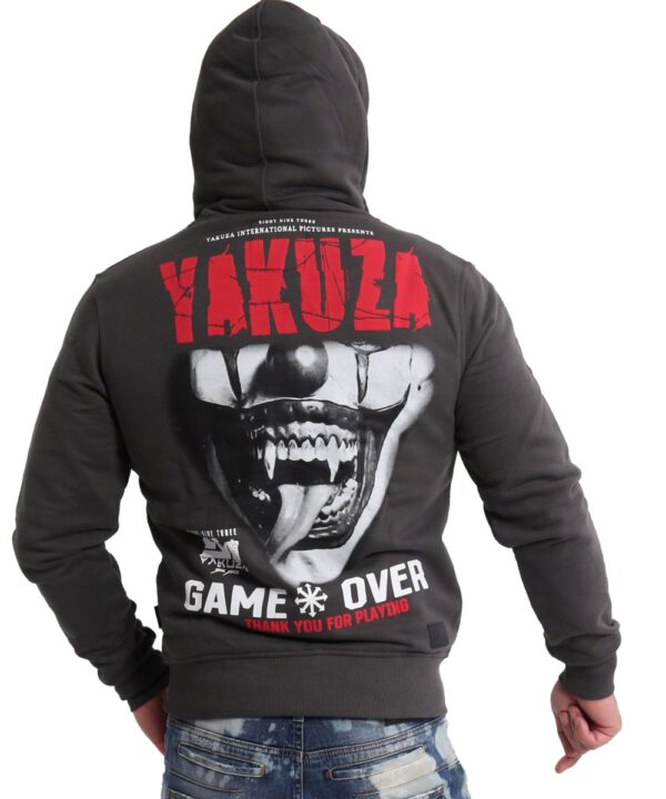 Yakuza Game Over Ninja Kapuzenjacke HZB-16087 black ink