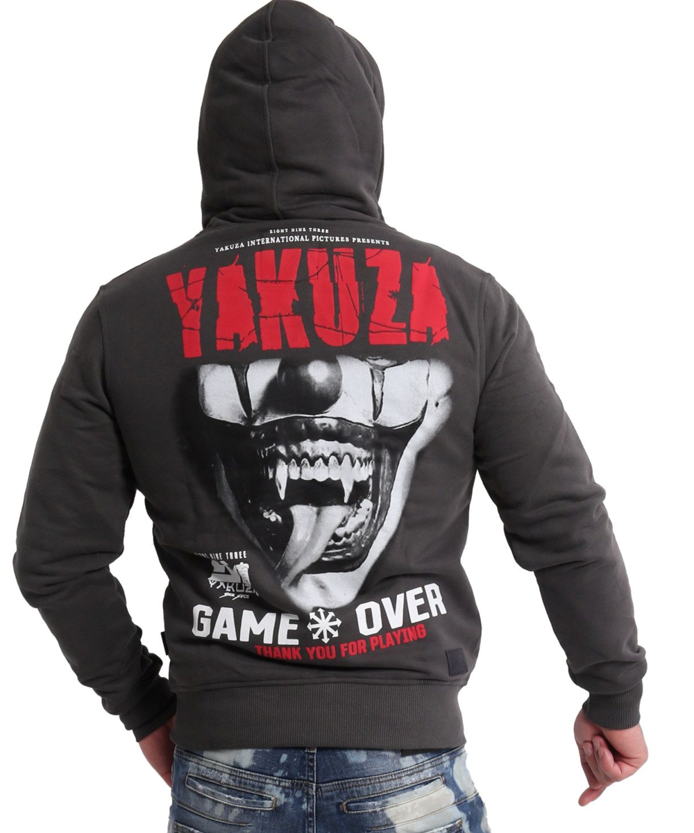 Yakuza Game Over Ninja Kapuzenjacke HZB-16087 black ink