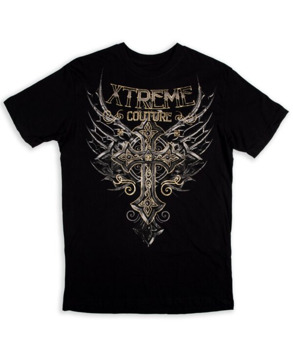 Xtreme Couture T-Shirt Iron Apostle black