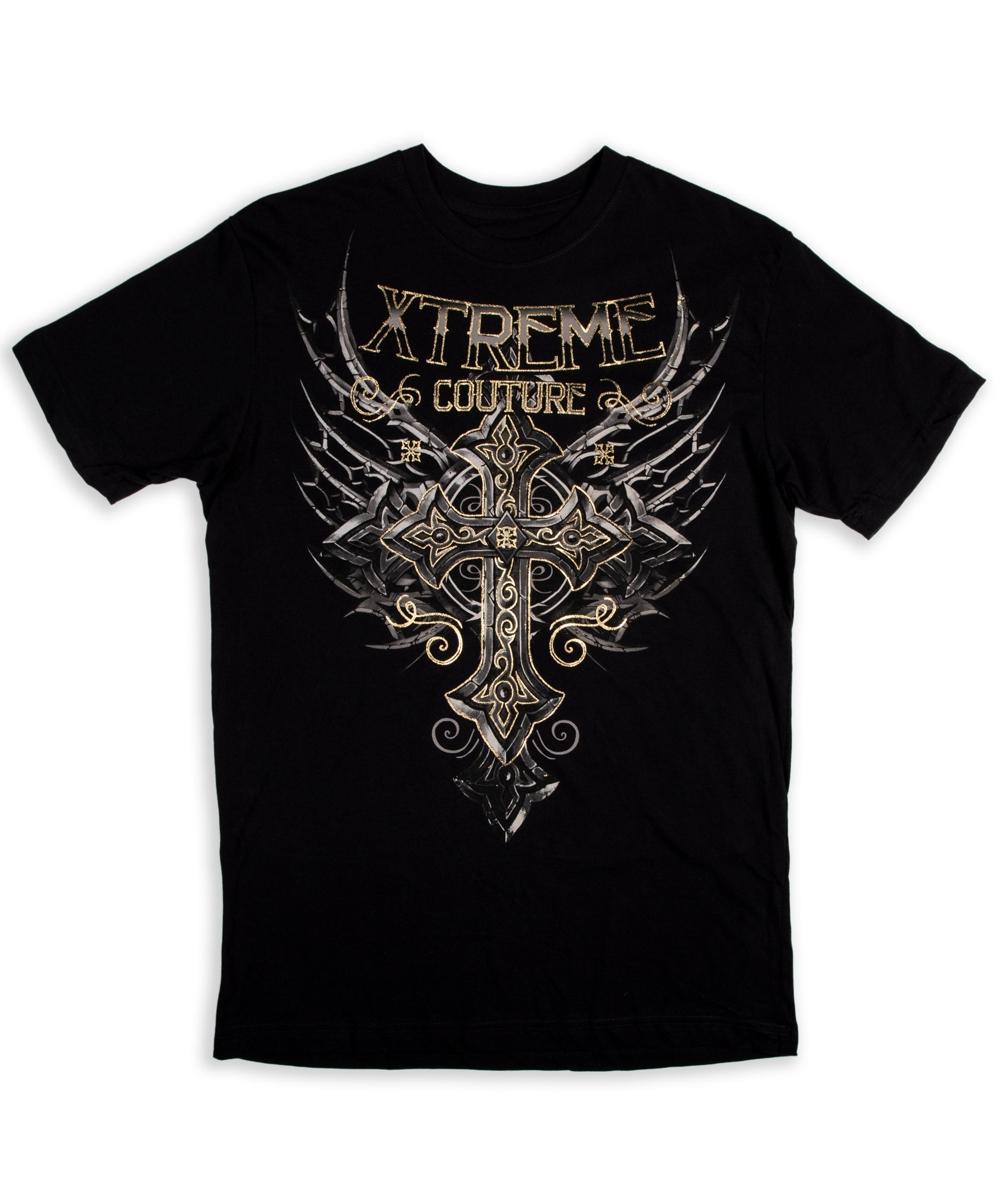Xtreme Couture T-Shirt Iron Apostle black