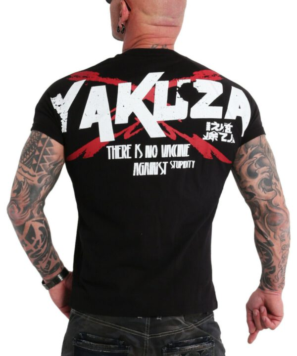 Yakuza Stupidity T-Shirt TSB-18048 black