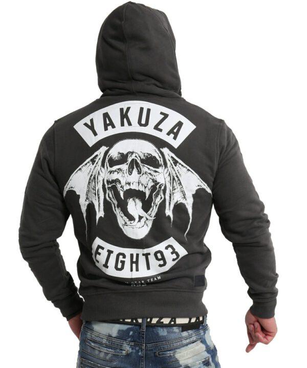 Yakuza Yakuza 893MC Ninja Kapuzenjacke HZB-16086 black ink