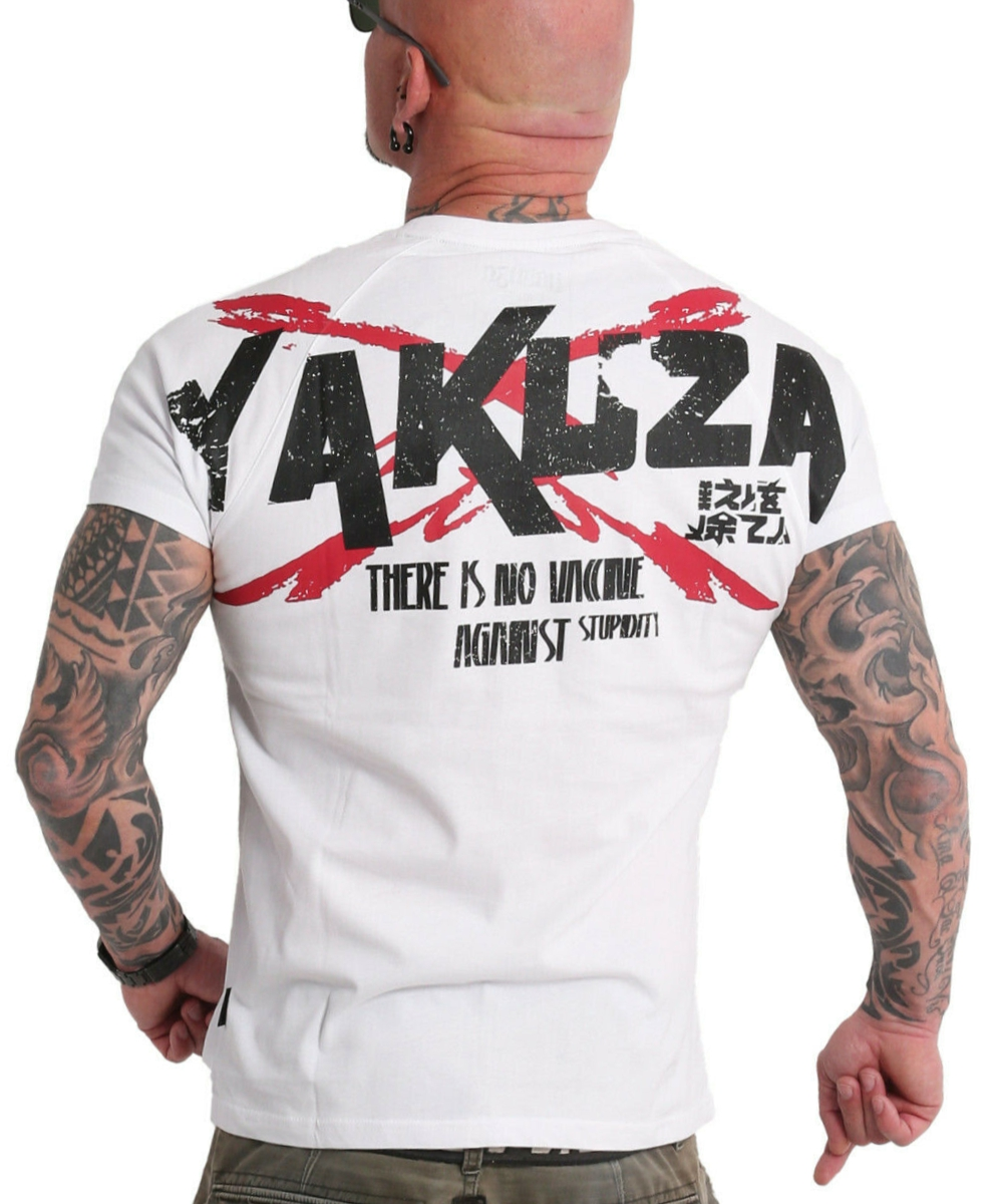 Yakuza Stupidity T-Shirt TSB-18048 weiß
