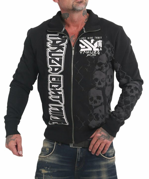 Yakuza Killing Fields Classic Trainingsjacke ZB-17019 black