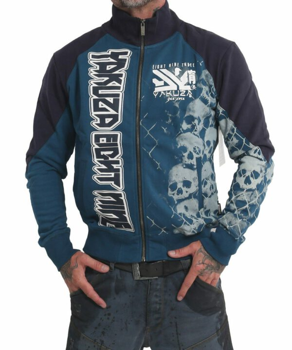 Yakuza Killing Fields Classic Trainingsjacke ZB-17019 mallard blue
