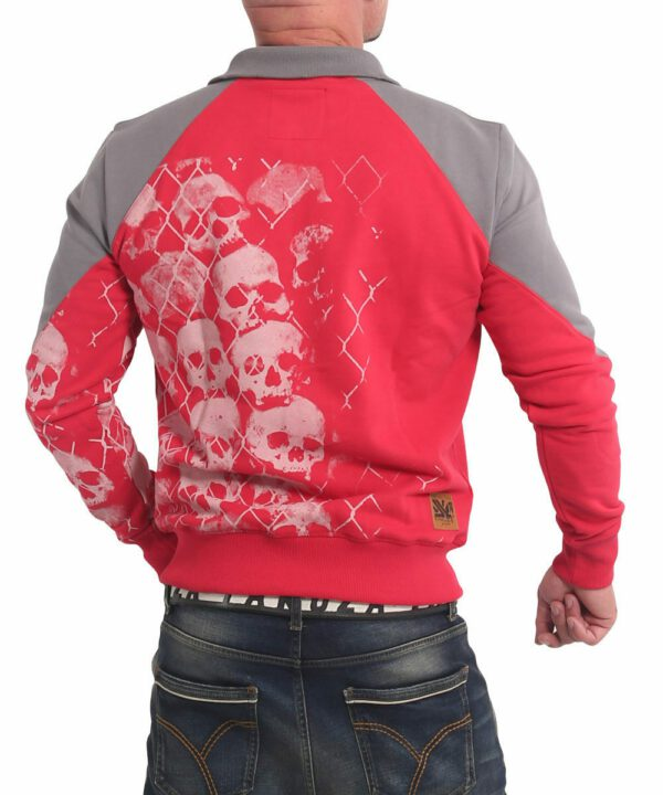 Yakuza Killing Fields Classic Trainingsjacke ribbon red ZB-17019