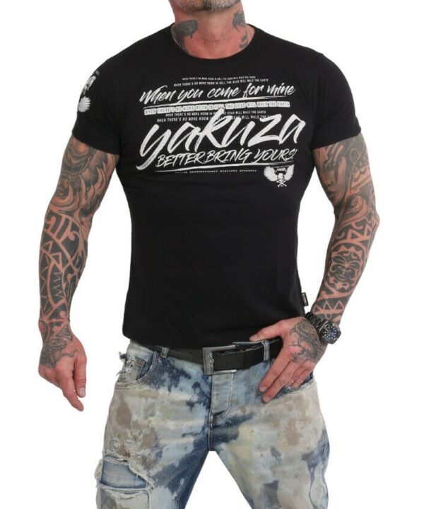 Yakuza Better Bring Yours T-Shirt TSB-18050 black