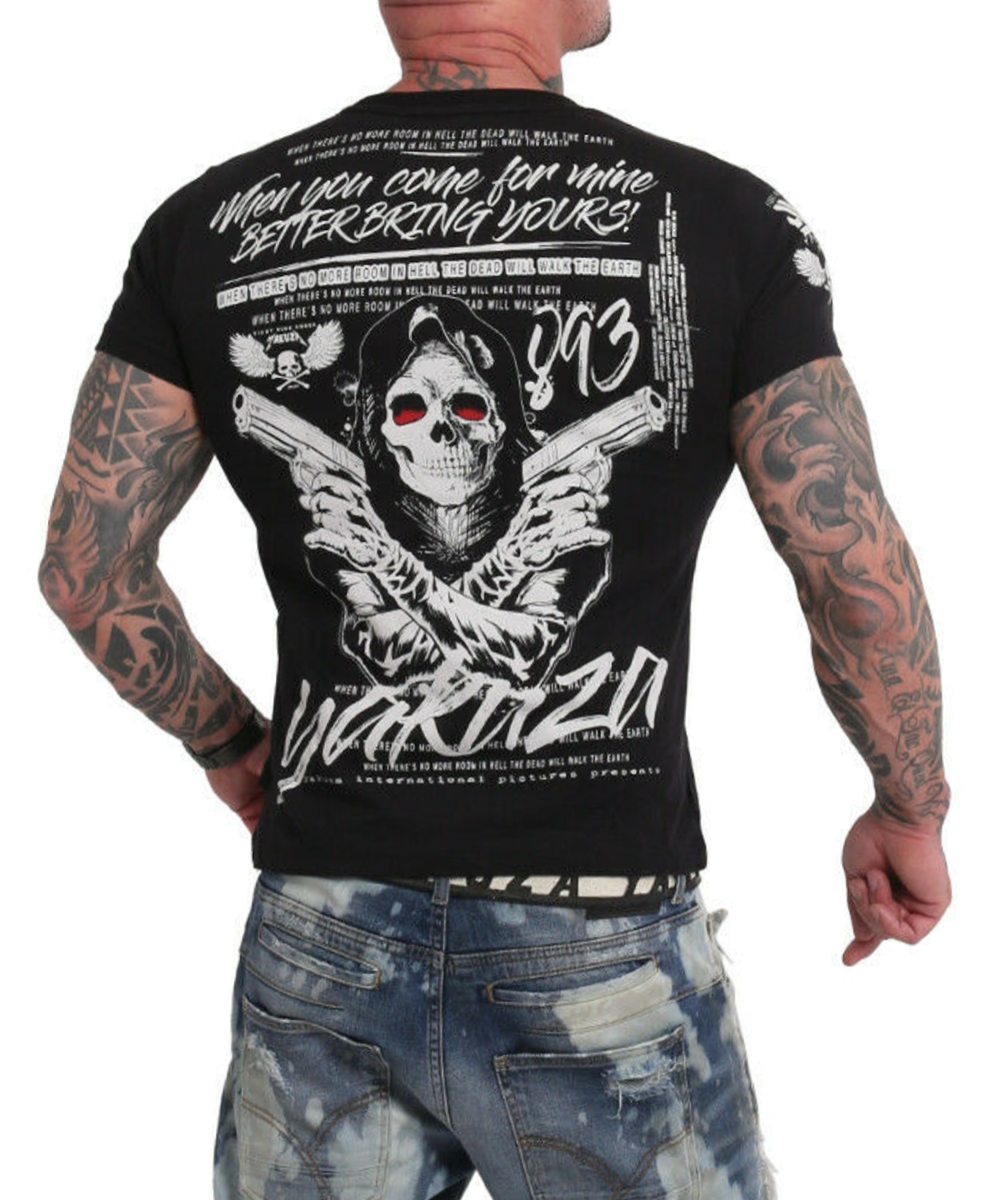 Yakuza Better Bring Yours T-Shirt TSB-18050 black