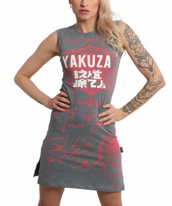 Yakuza Good Shot Slash Mini Kleid GKB-18122 cloudburst