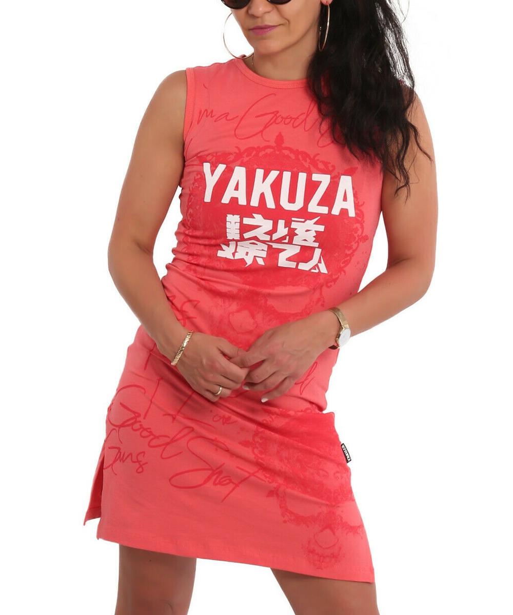 Yakuza Good Shot Slash Mini Kleid GKB-18122 geranium