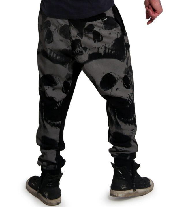 Yakuza Muerte Skull V02 Jogginghose black (JOB-18099)