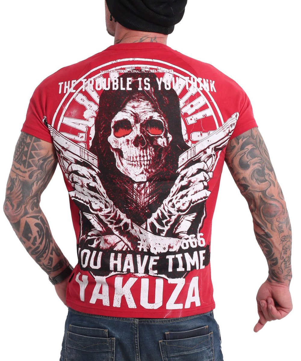 Yakuza Trouble T-Shirt TSB-18075 ribbon red