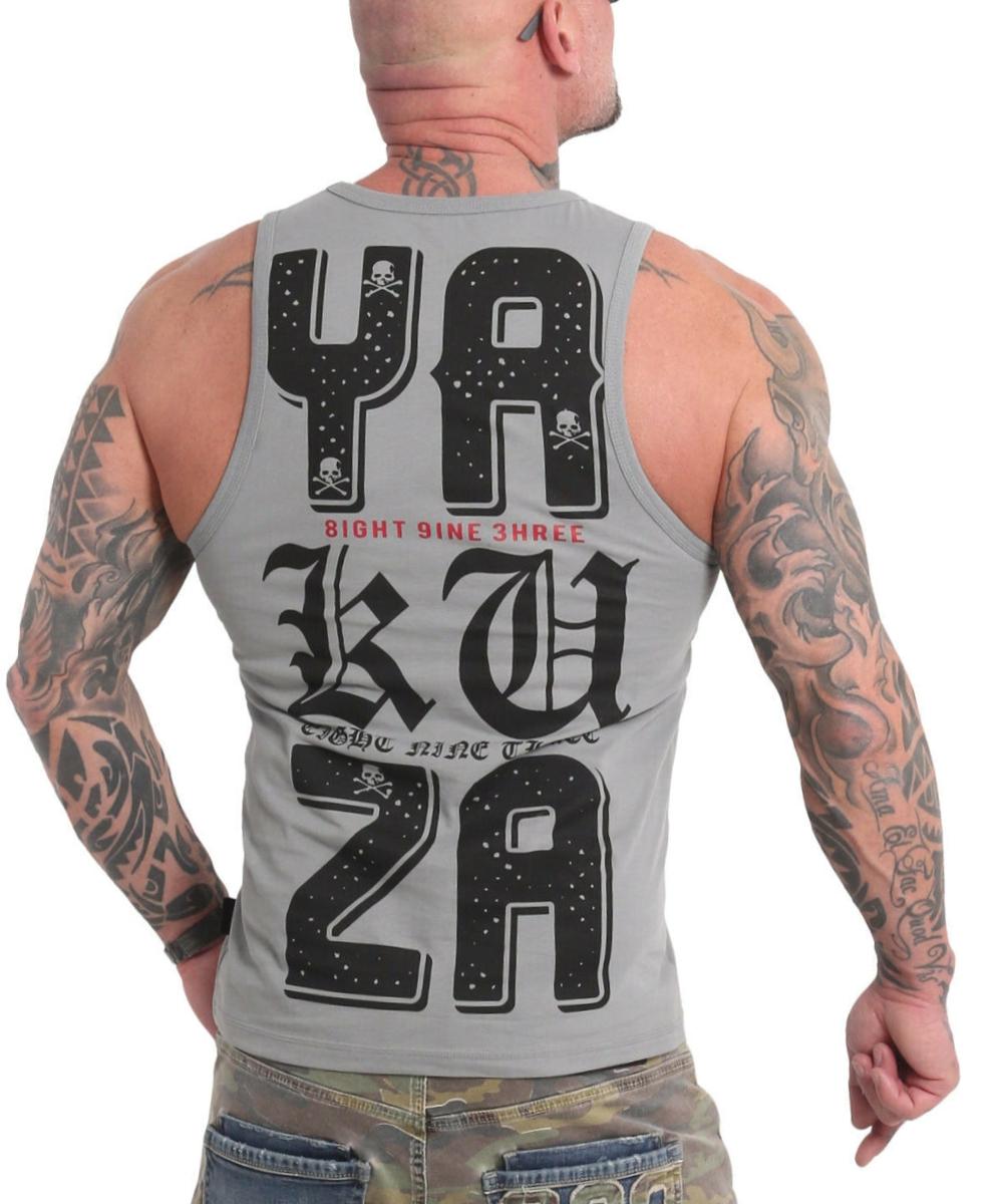 Yakuza 3Level Tanktop UHB-18057 grey