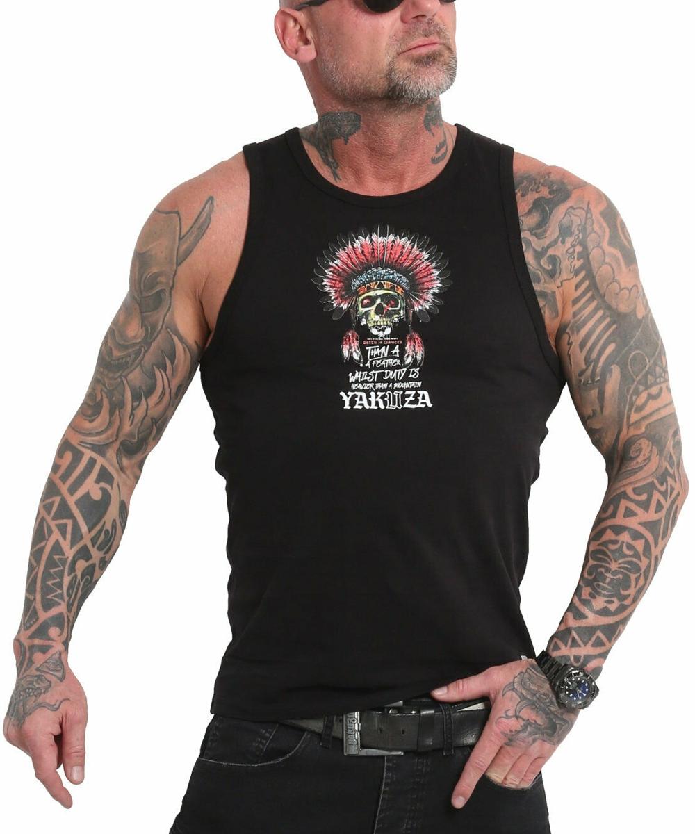 Yakuza Death Duty Tanktop UHB-18059 black