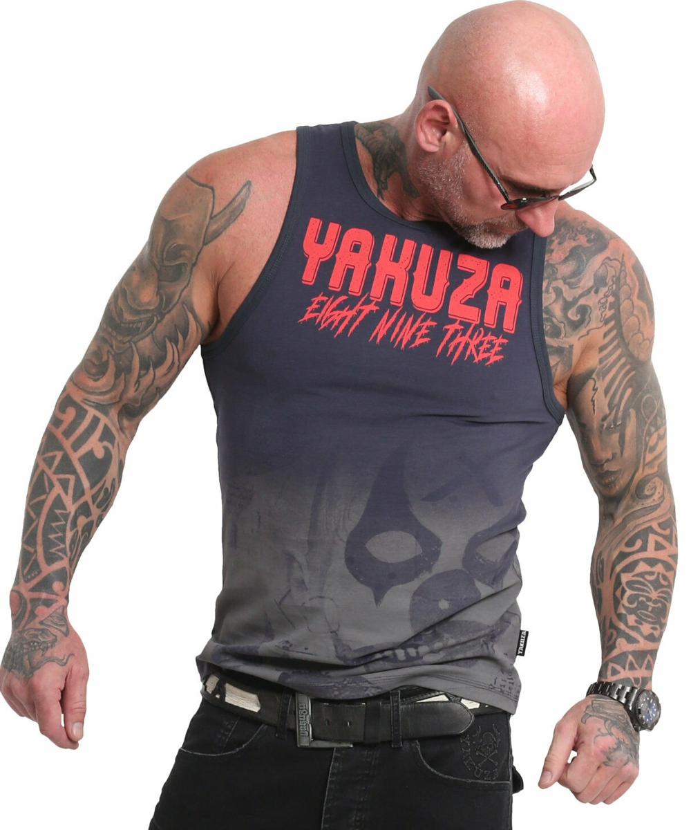 Yakuza Psycho Clown Tanktop UHB-18060 parsian night