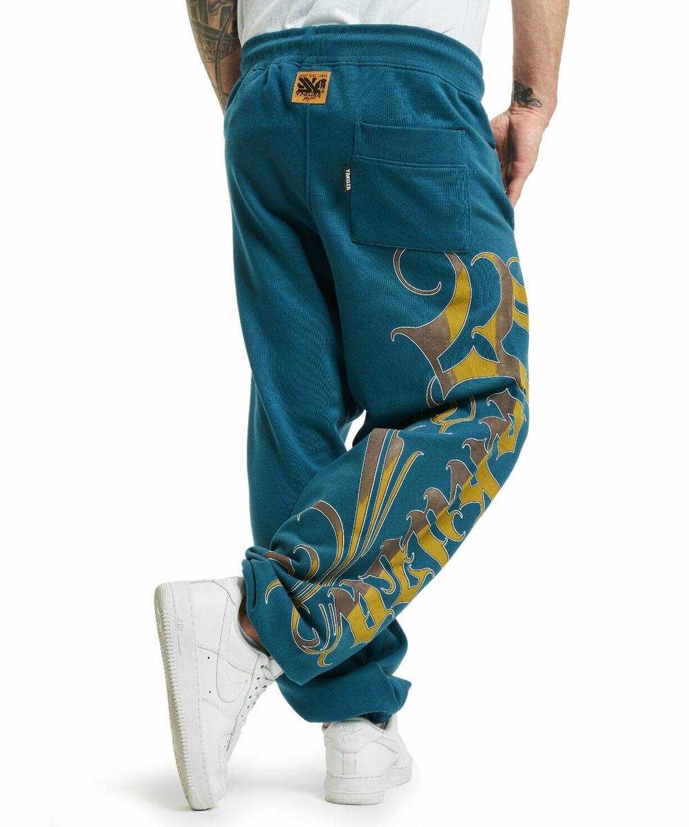 Yakuza Glory Loose Jogginghose JOB-17048 mallard blue