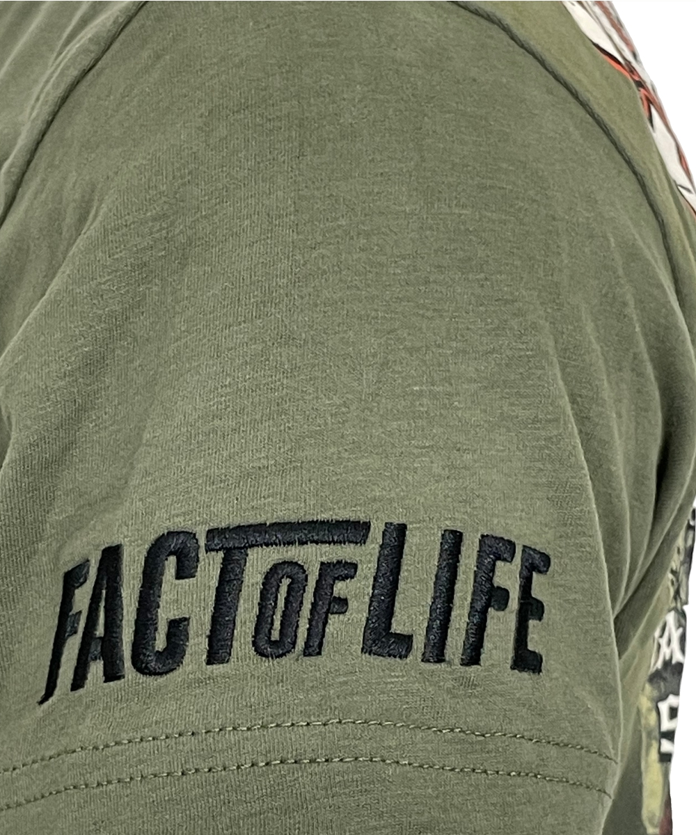 """Fact of Life T-Shirt """"Game Over"""" TS-45 grape leaf"""