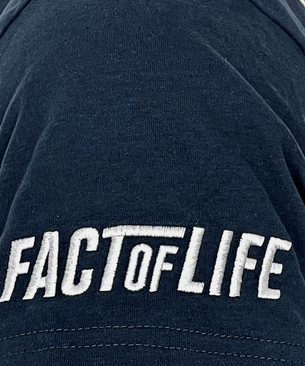 """Fact of Life T-Shirt """"Take Over"""" TS-38 navy"""