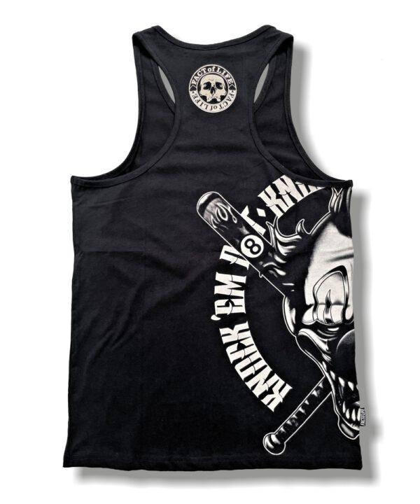 Fact of Life Tank Top Knockèm Out TT-02 black