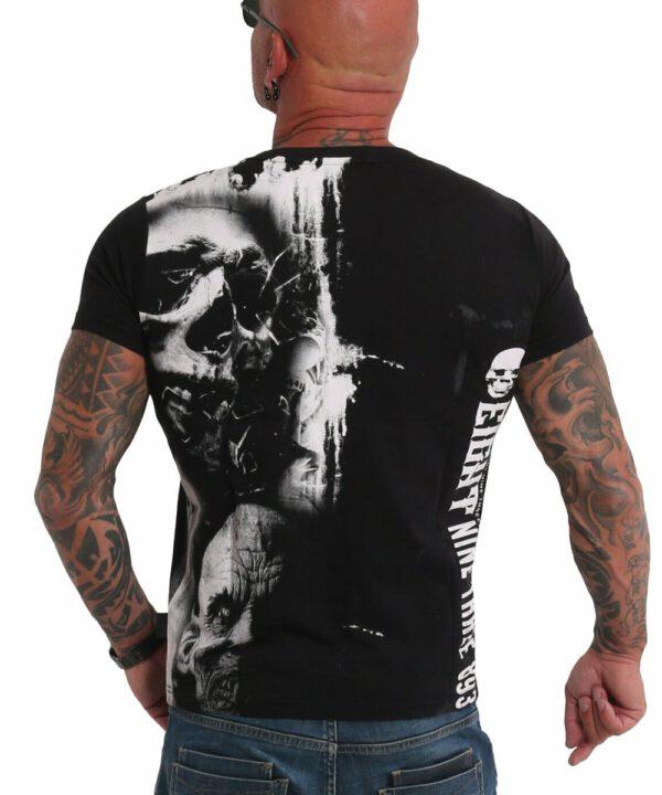 Yakuza Waiting Death V02 T-Shirt black