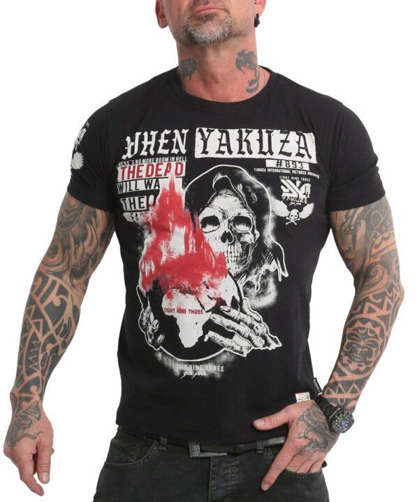Yakuza Earth T-Shirt TSB-18051 black
