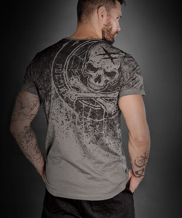 "Hyraw Herren T-Shirt ""DUST TO DUST"""