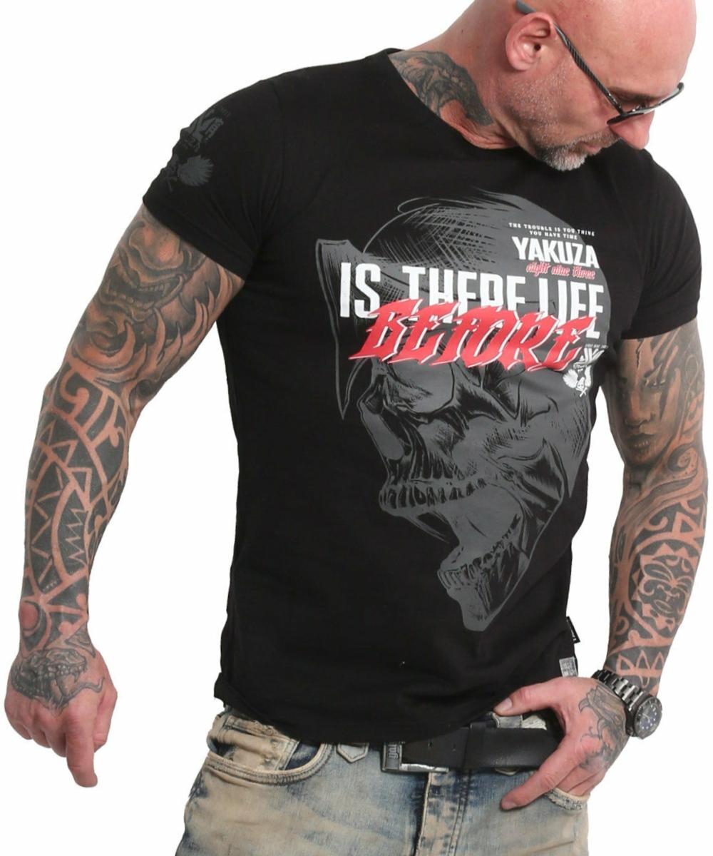 Yakuza Life Before T-Shirt TSB-18039 black