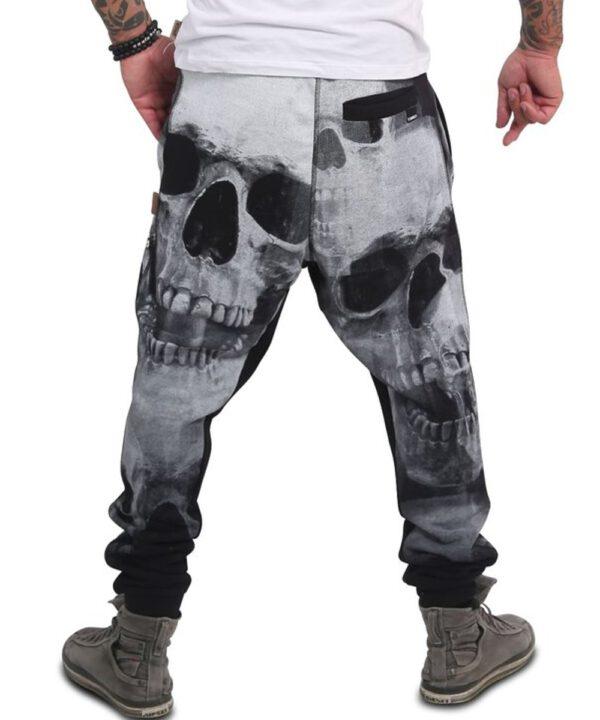 Yakuza Muerte Skull Jogginghose JOB-15008 black