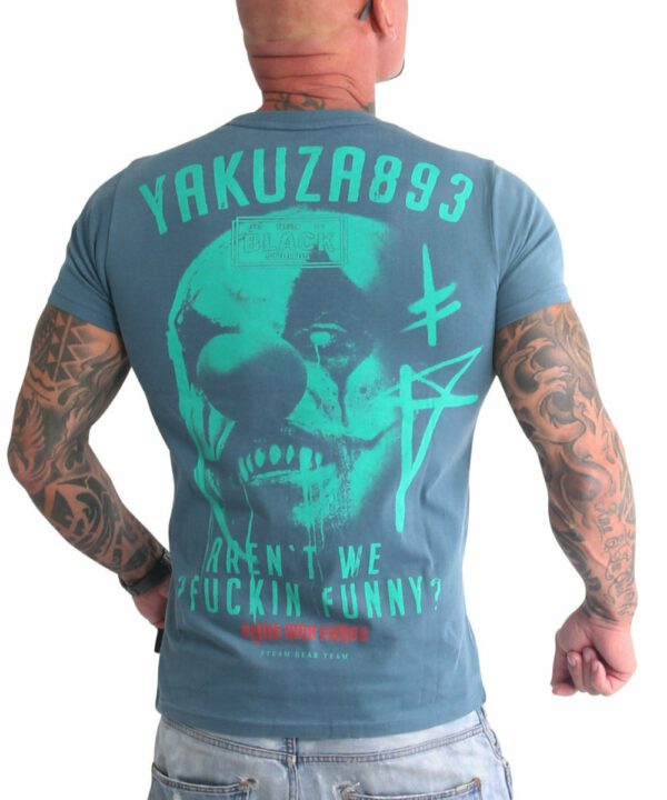 Yakuza Funny Clown T-Shirt TSB-19032 mediterana