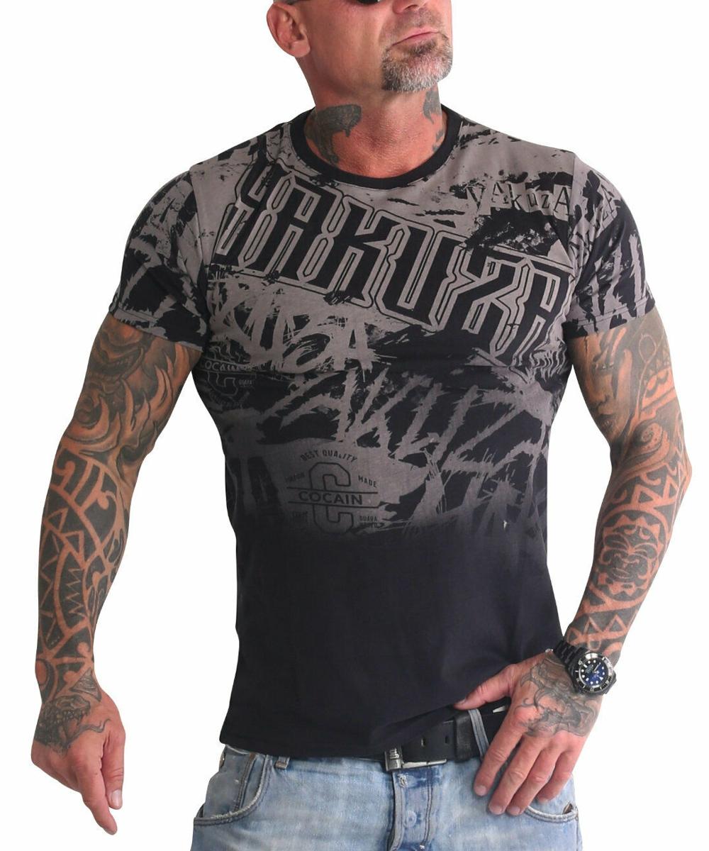 Yakuza Life Allover T-Shirt TSB-19038 black