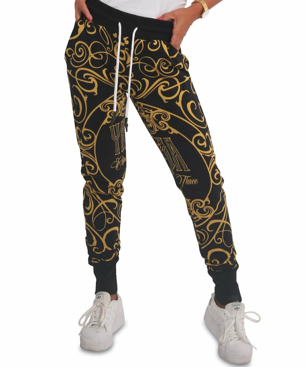 Yakuza Golden Roots Jogginghose GJOB-18111 black
