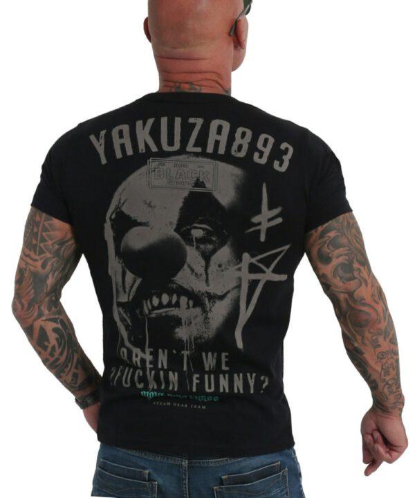 Yakuza Funny Clown T-Shirt TSB-19032 black