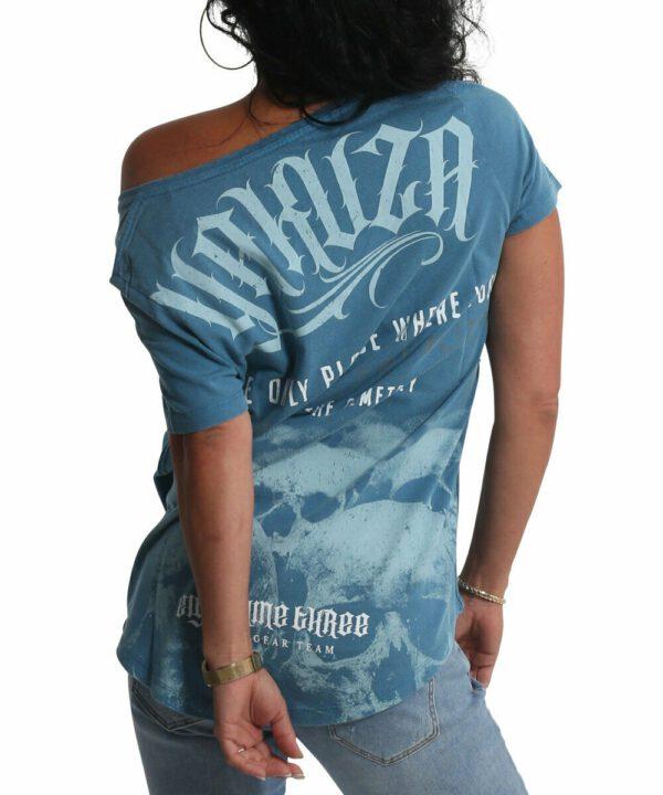 Equality Dye V-Neck T-Shirt mal