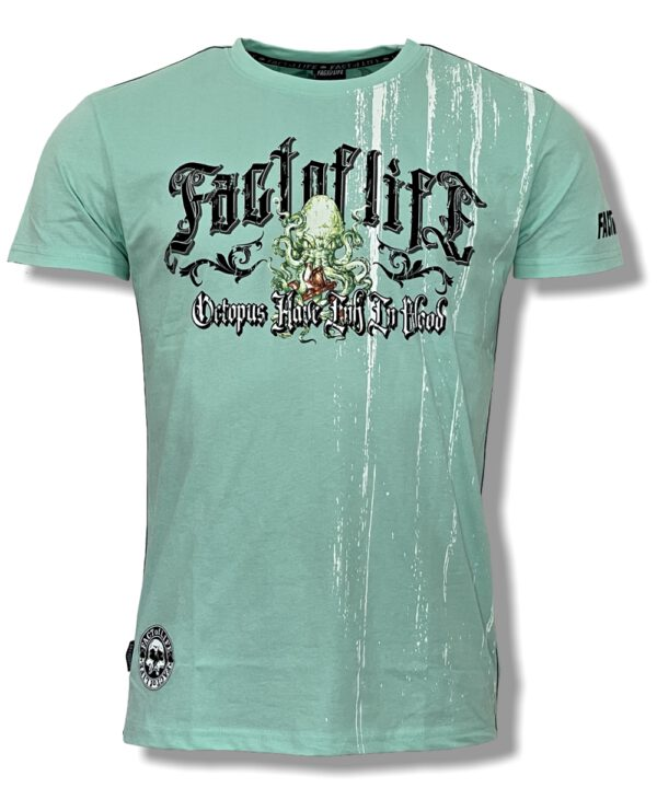 "Fact of Life T-Shirt ""Ink Octopus"" TS-48 mint"