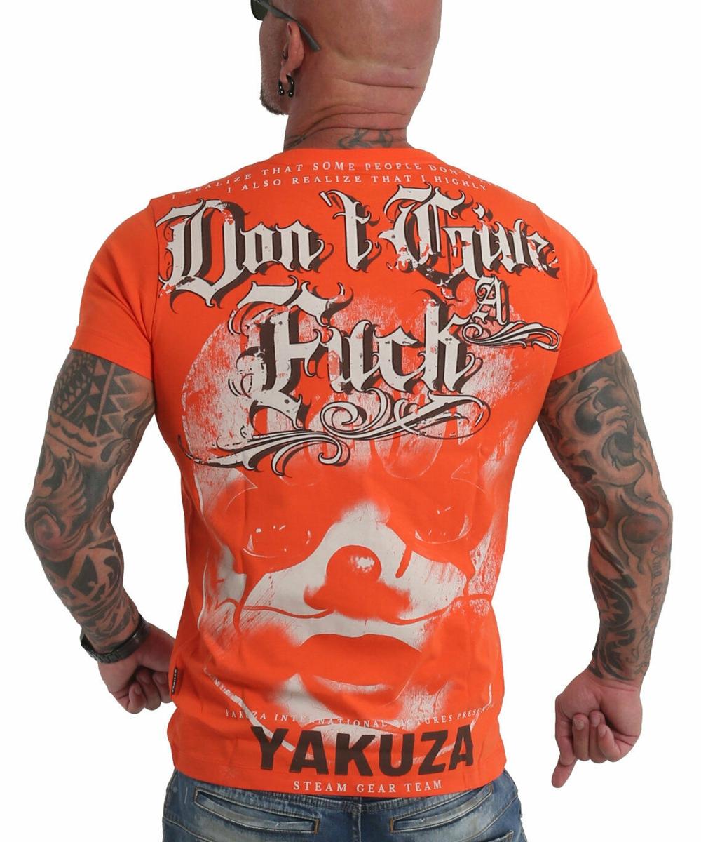 Yakuza Give A Fck T-Shirt TSB-19027 cherry tomato