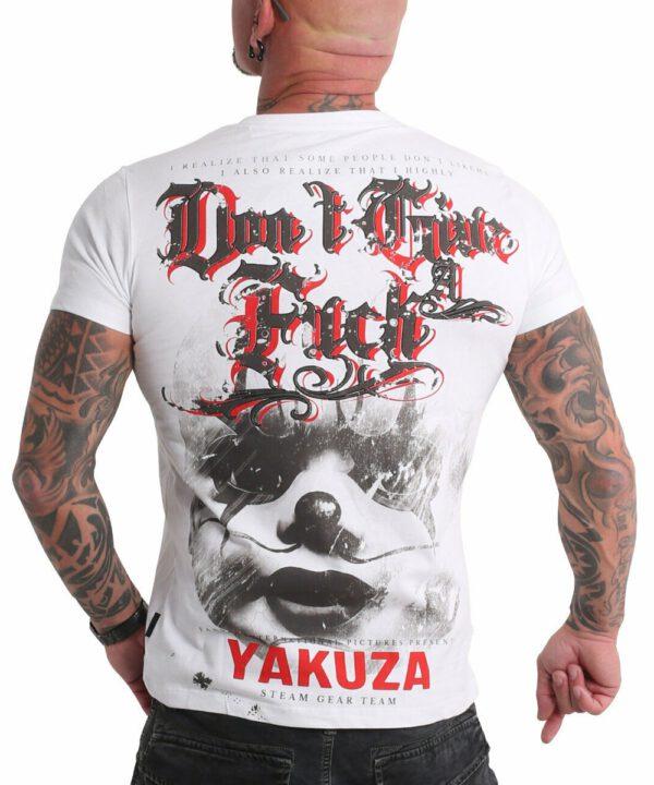 Yakuza Give A Fck T-Shirt TSB-19027 weiß