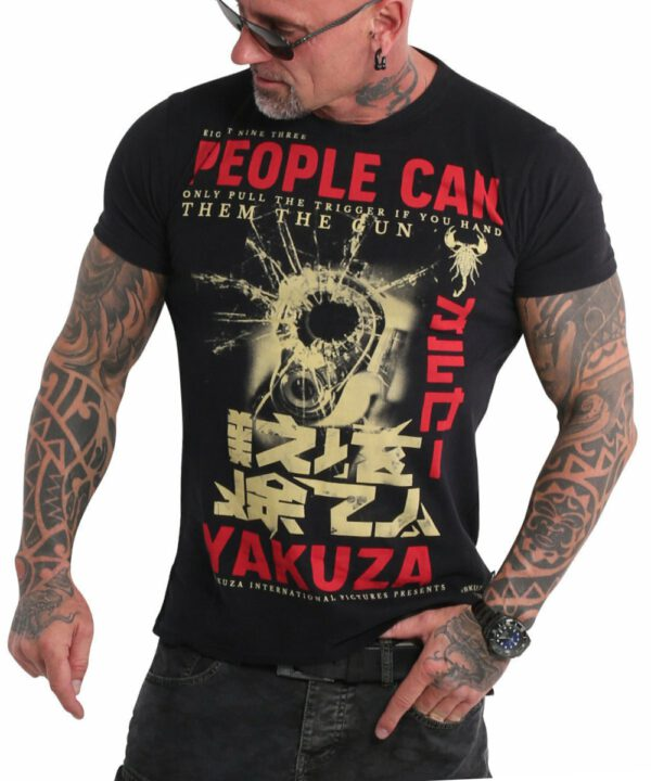Yakuza People T-Shirt TSB-19026 black
